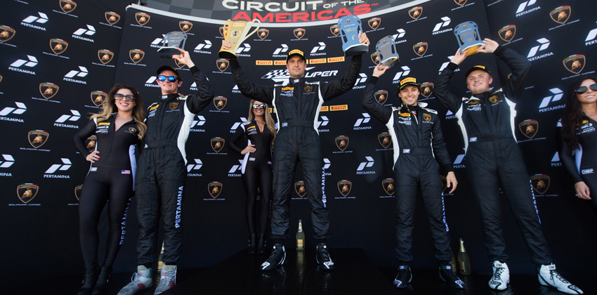 Change Racing Sweeps Lamborghini Super Trofeo at COTA