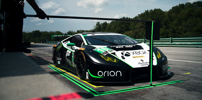 Change Racing on Pole at VIRginia International Raceway