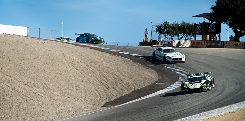 Ninth Place Finish for Change Racing at Mazda Raceway Laguna Seca