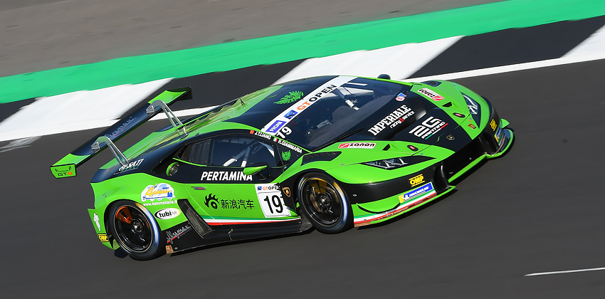 Imperiale Racing in Monza for the penultimate round of International GT Open 2018