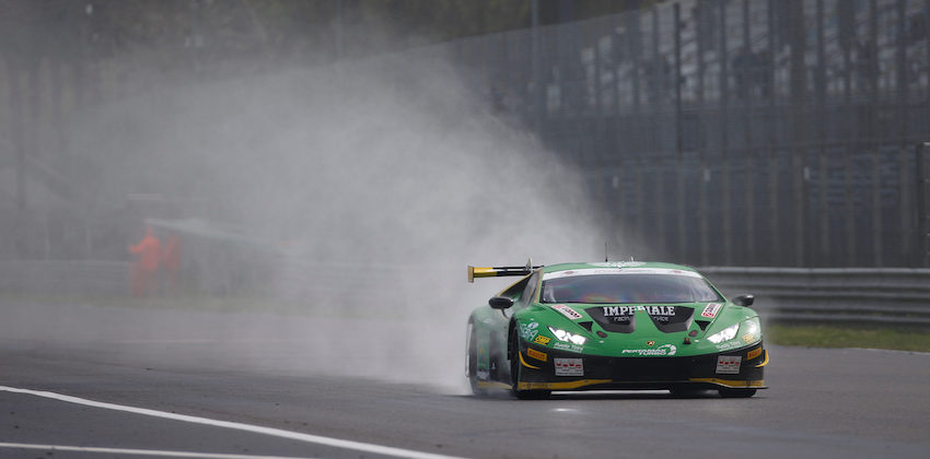 Imperiale Racing clinching the victory in PRO-Am in an eventful race in Monza