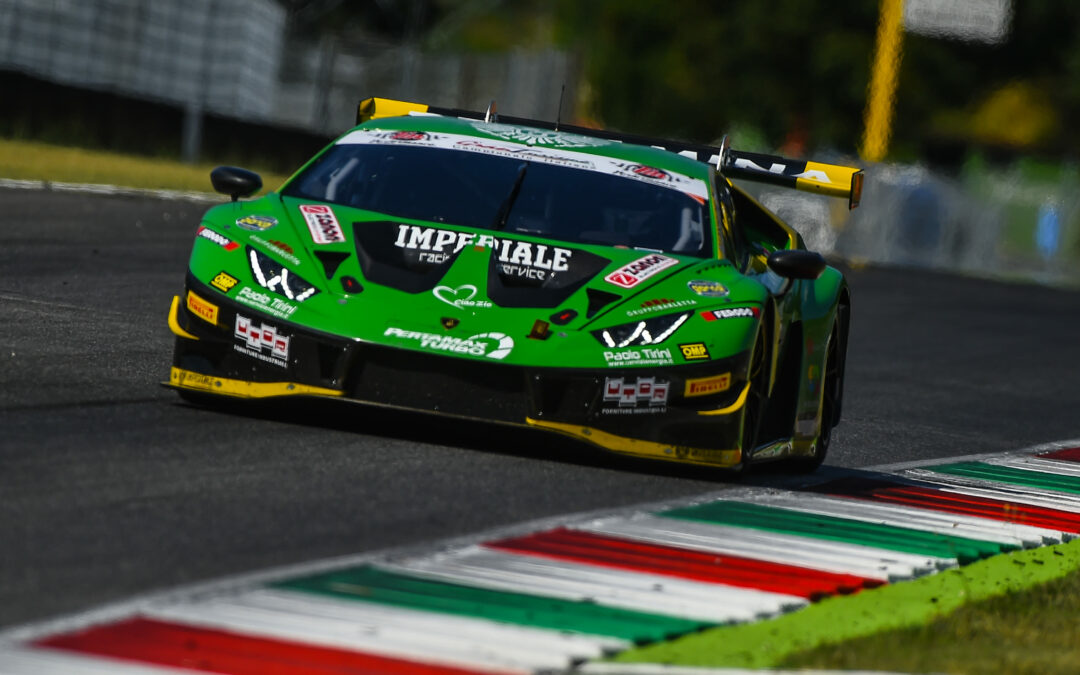 Imperiale Racing twice on the podium in the hot weekend of the Italian GT 2019 Sprint Championship in Mugello